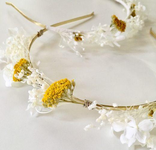 Headband de mariage Hysope