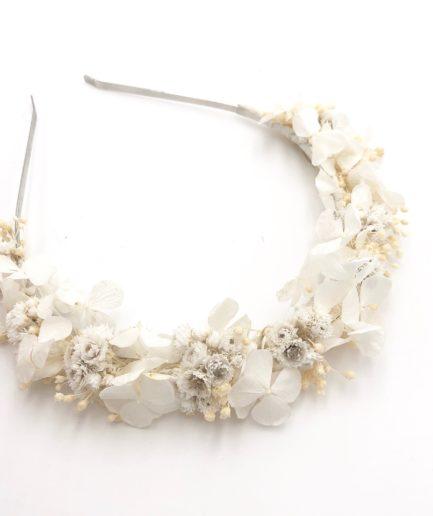 Headband de mariage Immortelle - Les Fleurs Dupont