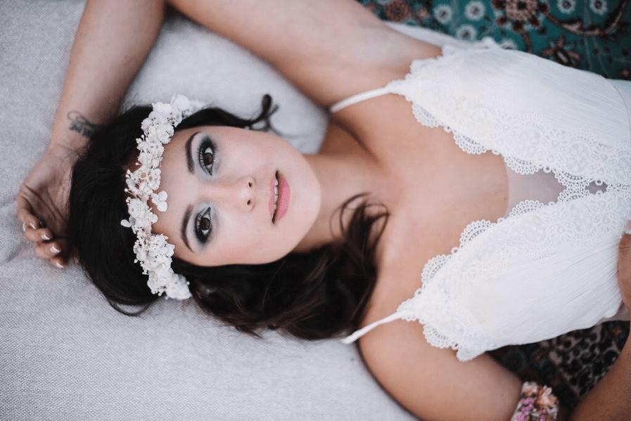 Couronne de mariage Immortelle - Photo Yoann Pallier et Jeevan - Les Fleurs Dupont