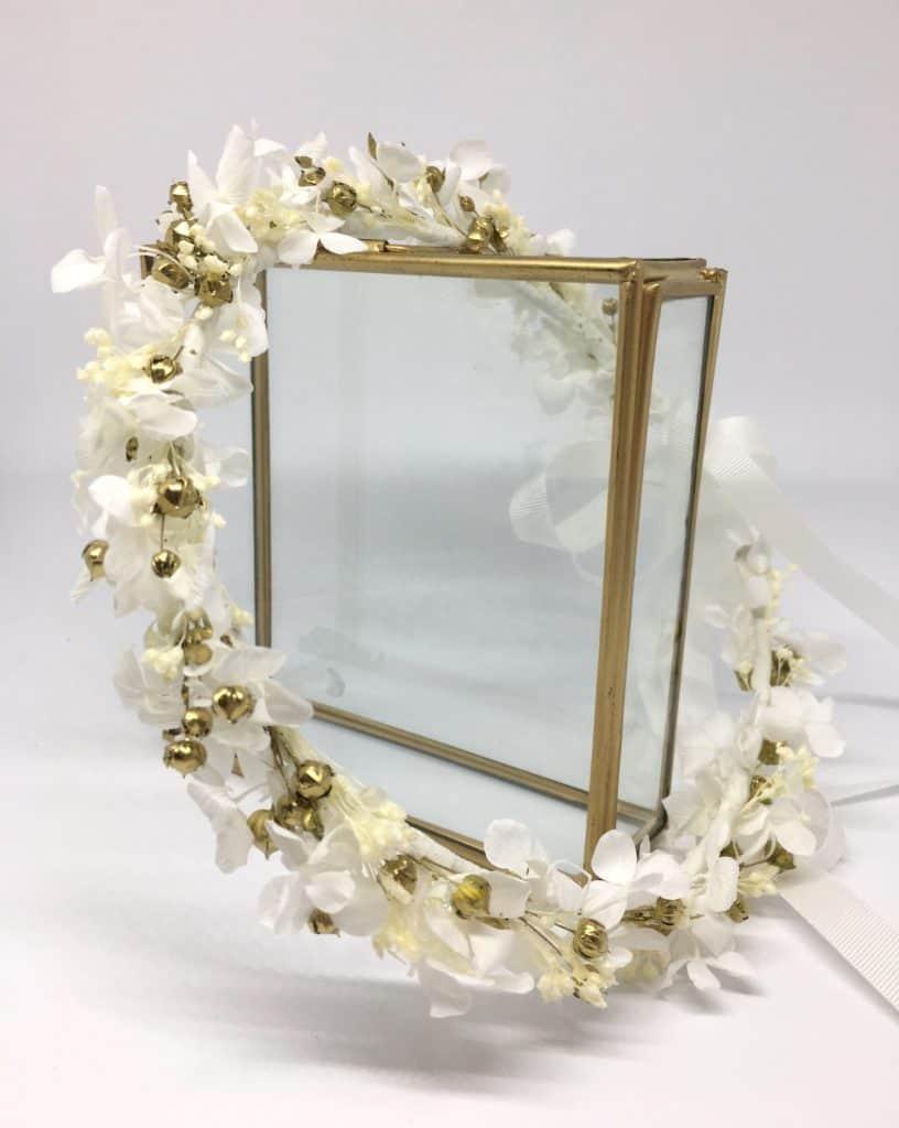 Couronne de fleurs pour la mariée Aura
