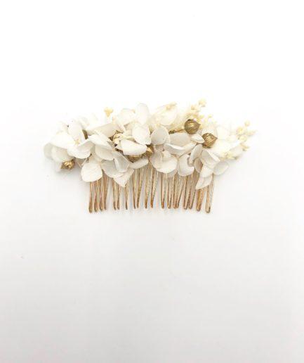 Peigne de mariage Aura - Les Fleurs Dupont