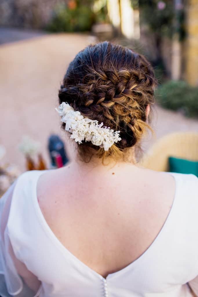 shooting Kaa Couture Peinge de Mariage Les Fleurs Dupont