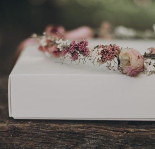 Collection romantique - Couronne de mariage Romance - Cécile Bellu Photographie