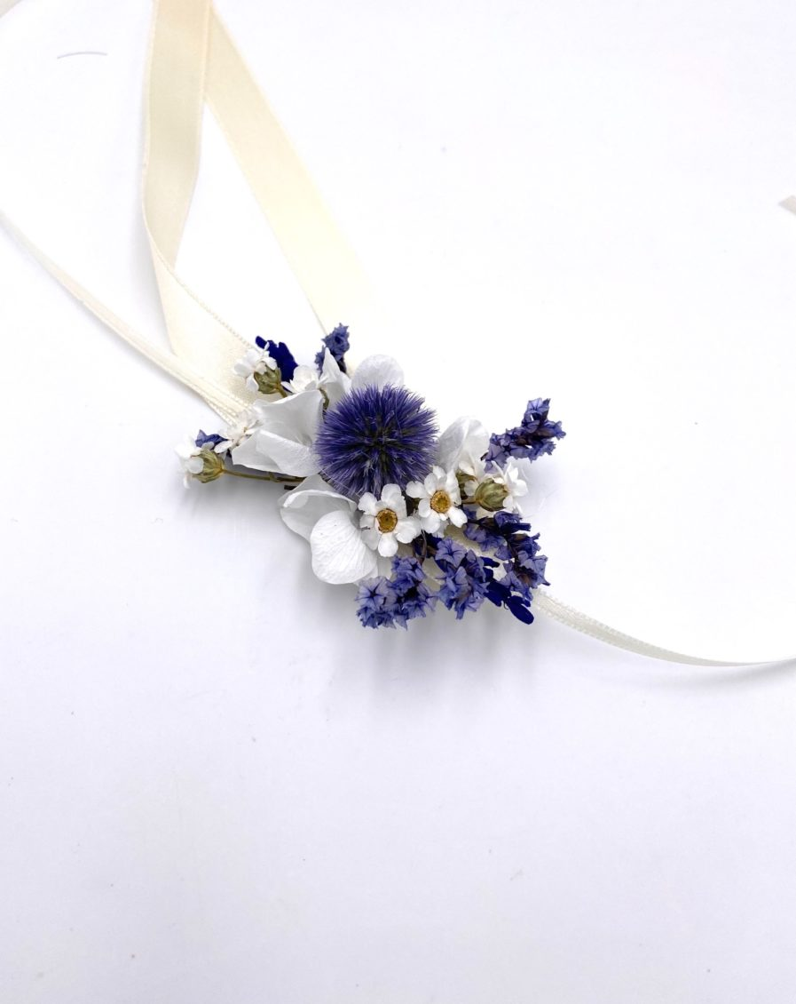Bracelet de demoiselles d'honneur Violine