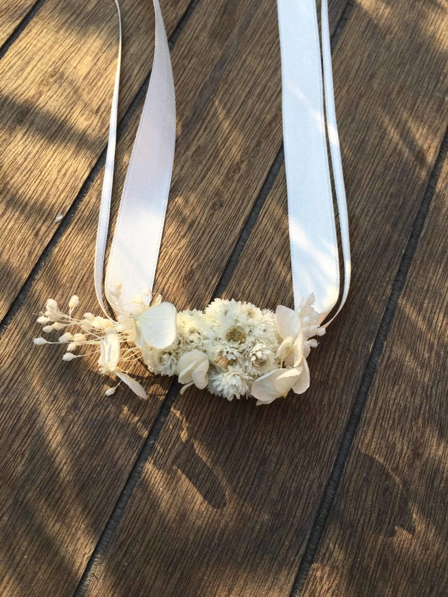 Bracelet de demoiselles d'honneur Immortelle
