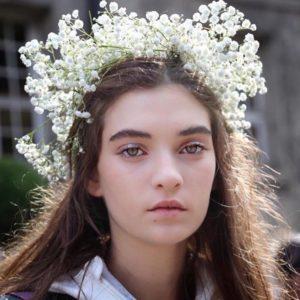 Gypsophile blanc pour couronne de mariage