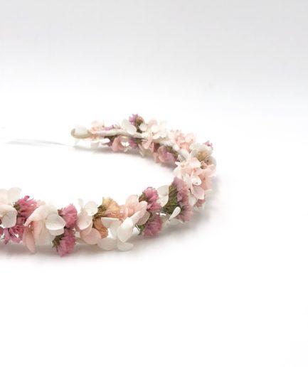 Couronne de mariage Lilla en fleurs séchées - Les Fleurs Dupont