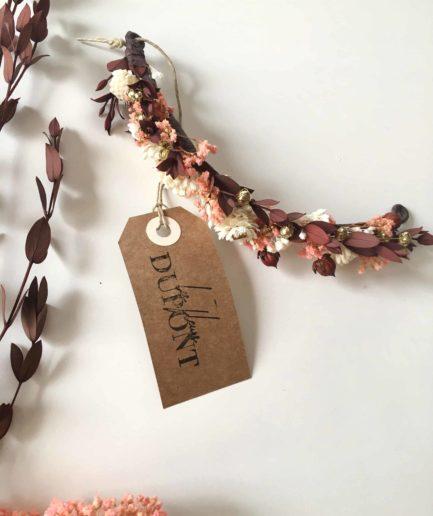 Barrette de mariage Rhéa - Collection Automne et champêtre