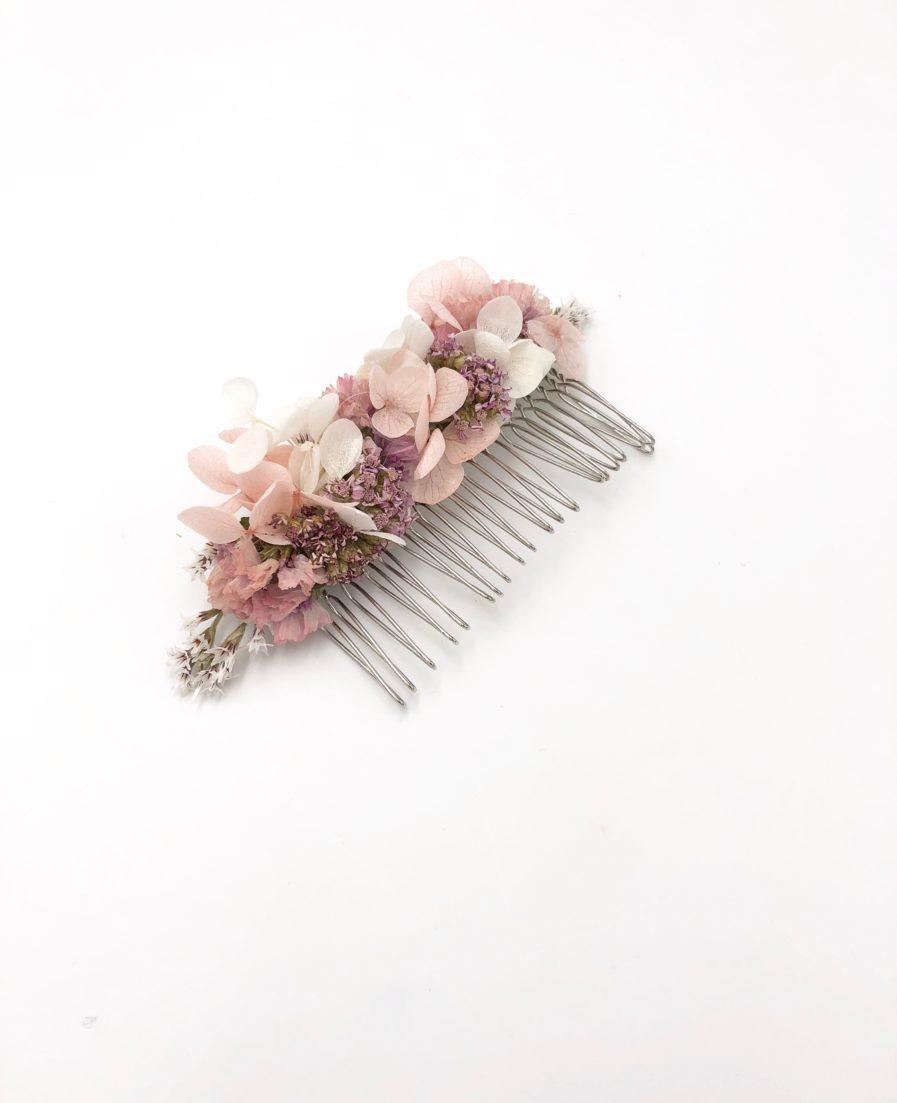 Peigne de fleurs Lilla - Collection Romantique - Les Fleurs Dupont