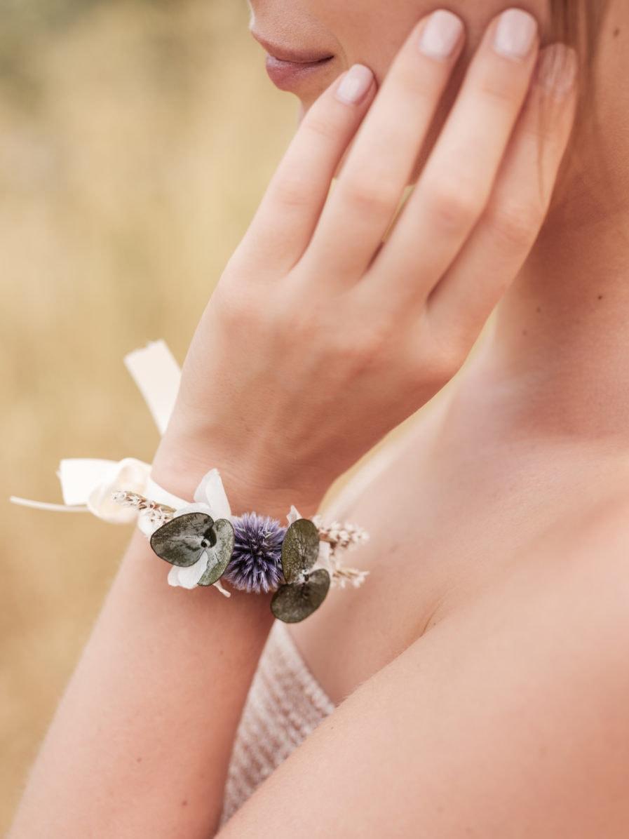 Bracelet fleurs séchées Céleste - Ilan Dehé - Natalya