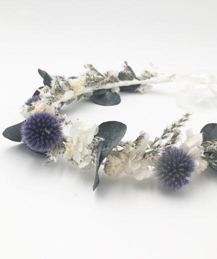 Couronne de fleurs Céleste - Les Fleurs Dupont