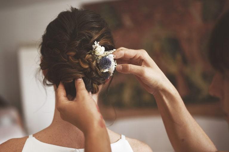 Peigne de mariage Céleste