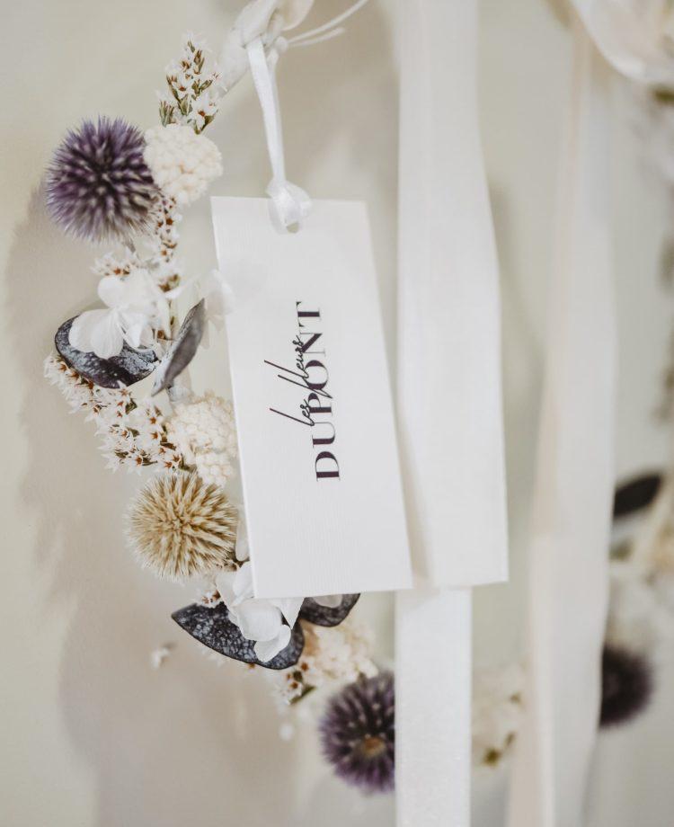 Photographie Audrey Rutz - Couronne d'hiver - Les Fleurs Dupont - Accessoires en fleurs collection couture
