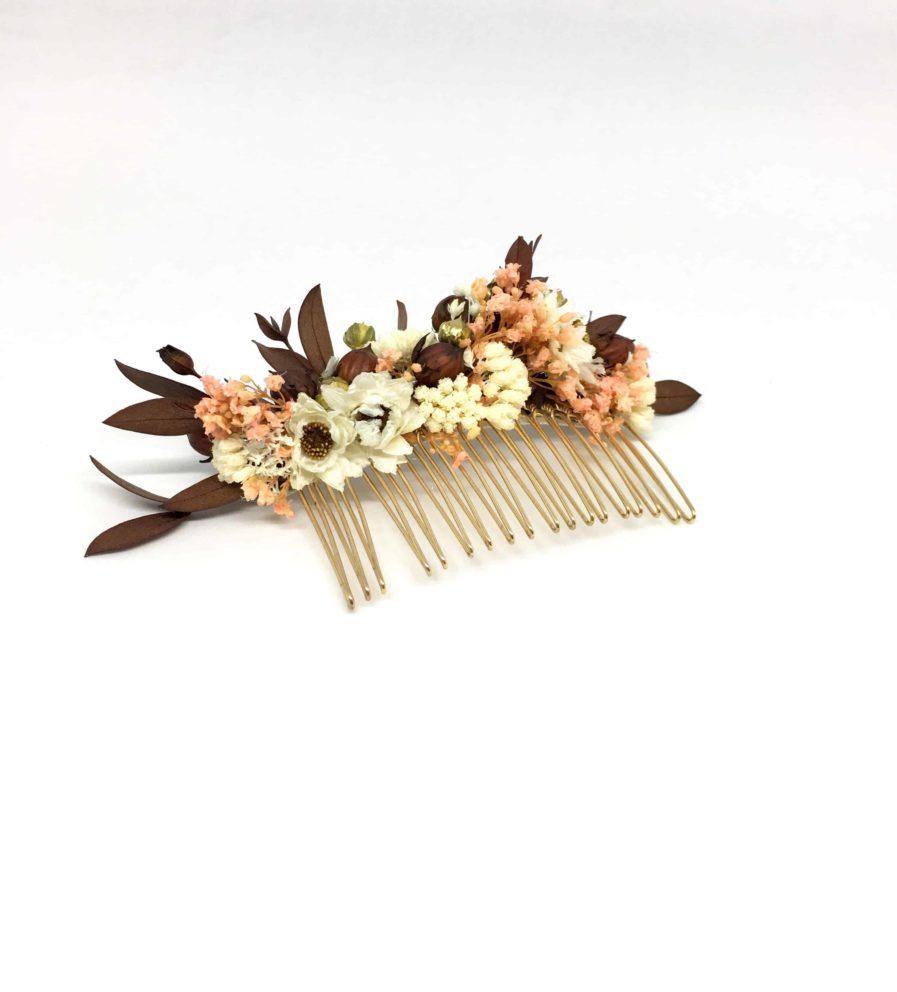 Peigne de mariage Rhéa - Collection 2018 - les Fleurs Dupont - Accessoires en fleurs