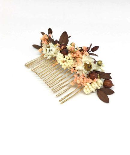 Peigne de mariage Rhéa - Collection 2018 - les Fleurs Dupont -