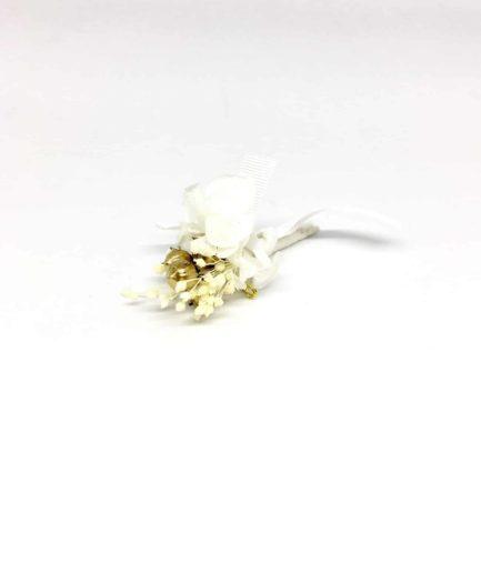 Boutonnière de mariage Aura - Les Fleurs Dupont