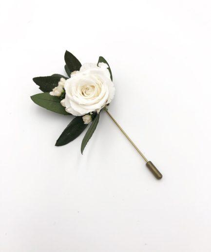 Boutonnière broche Elaia - collection Végétale
