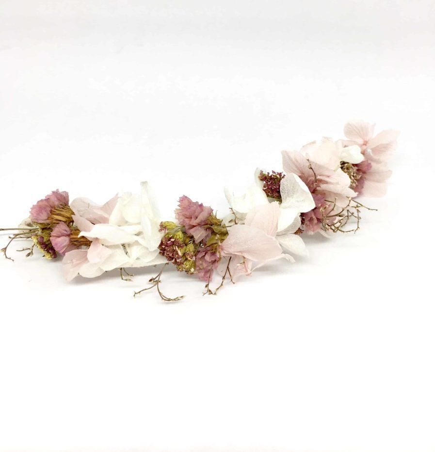 Barrette de mariée Lilla - Accessoire de cheveux pour la mariée romantique et chic -