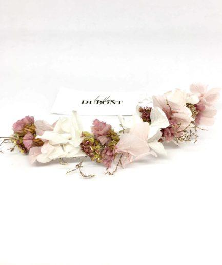 Barrette de mariée Lilla - Accessoire de cheveux pour la mariée romantique et chic - les Fleurs Dupont - Collection 2018