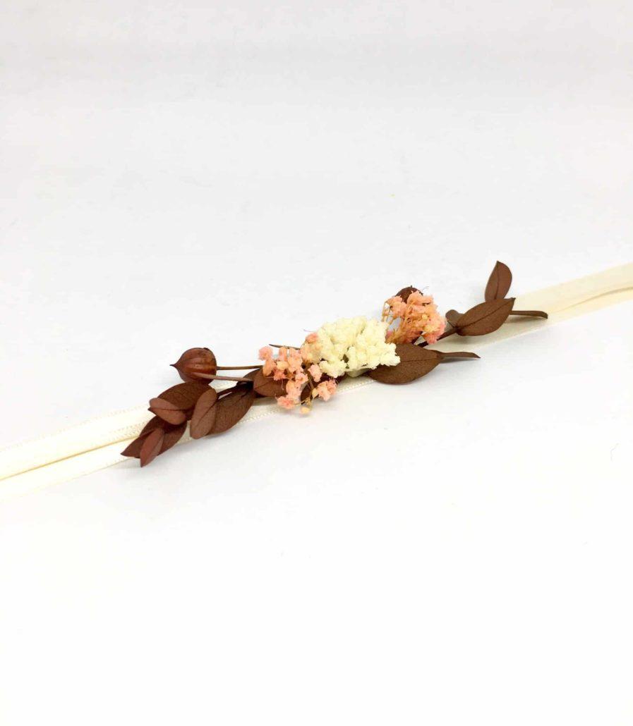 bracelet de demoiselles d'honneur Rhéa - Accessoires en fleurs pour demoiselles d'honneur
