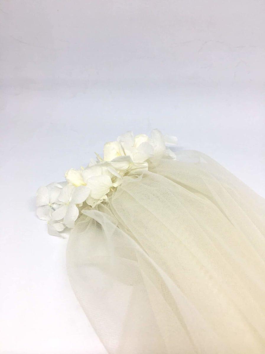 Voiles de mariée fleuris - Photo Anaïs Nannini - L'amoureuse by Ingrid Fey et les Fleurs Dupont