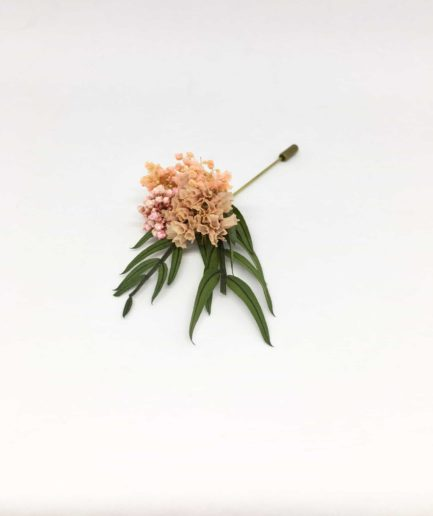 Boutonnière en fleurs Marcellin - Boutonnière en fleurs pour mariés et témoins - Les Fleurs Dupont