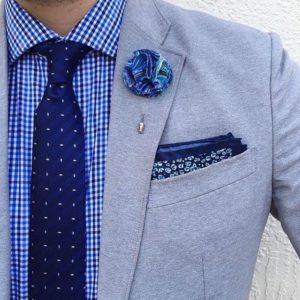 The Dark Knot - Porter une boutonnière de marié - Style casual