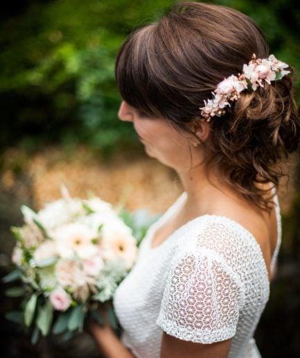 Barrette de mariage Confetti
