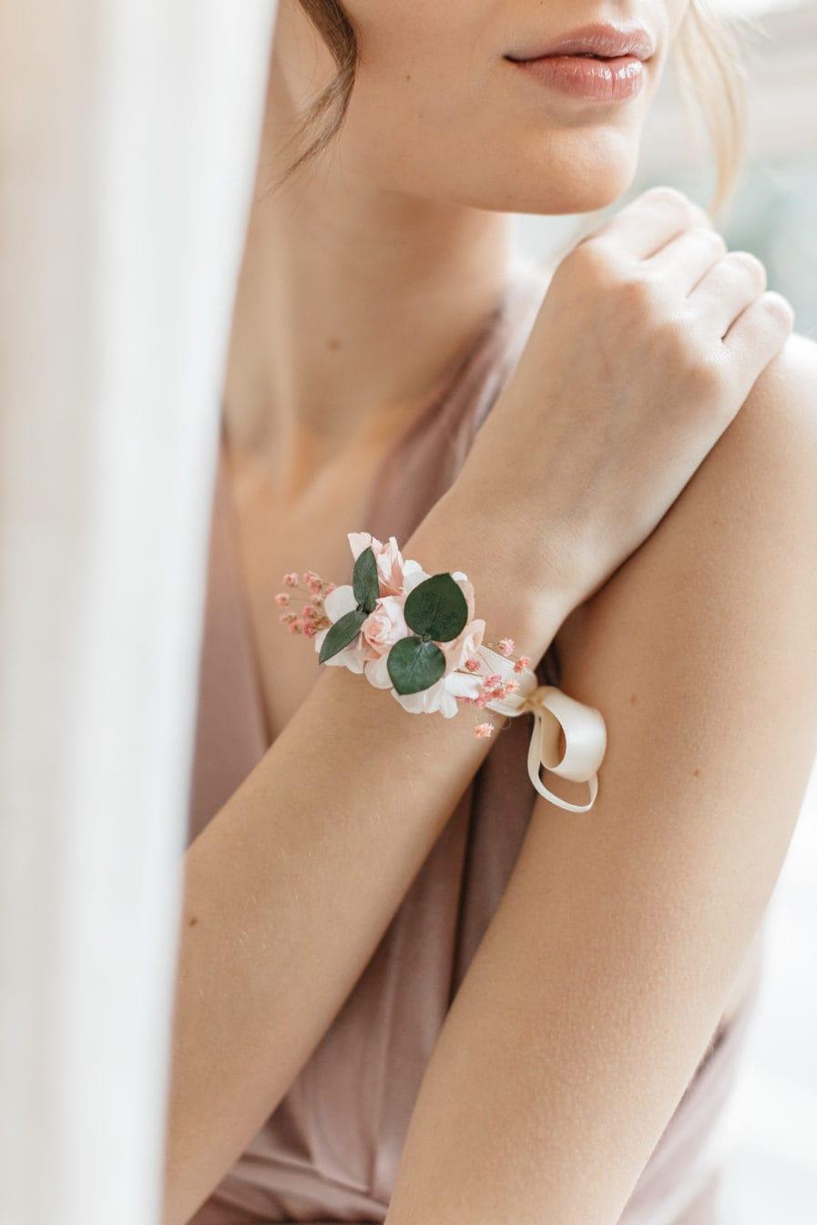 Bracelet de demoiselle d'honneur Confetti