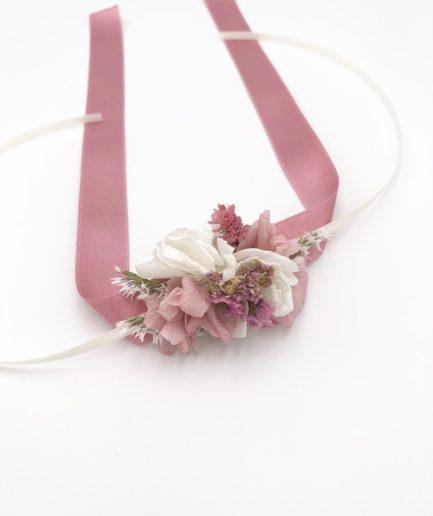 Bracelet demoiselles d'honneur Lilla en fleurs séchées