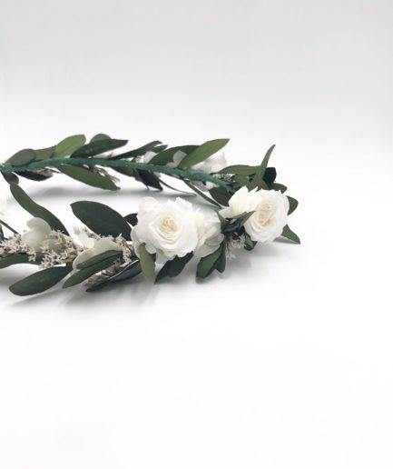 Couronne de fleurs Elaia - Les Fleurs Dupont