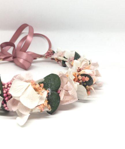 Couronne de fleurs Confetti - Accessoire de mariage de la collection romantique - Les Fleurs Dupont