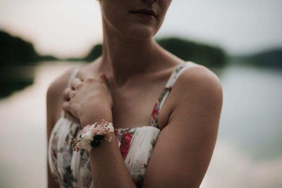 Bracelet demoiselle d'honneur Confetti - Photographie Léa Féry Lyon