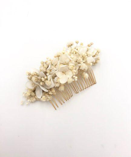 Peigne de gypsophile stabilisé Nive - Les Fleurs Dupont