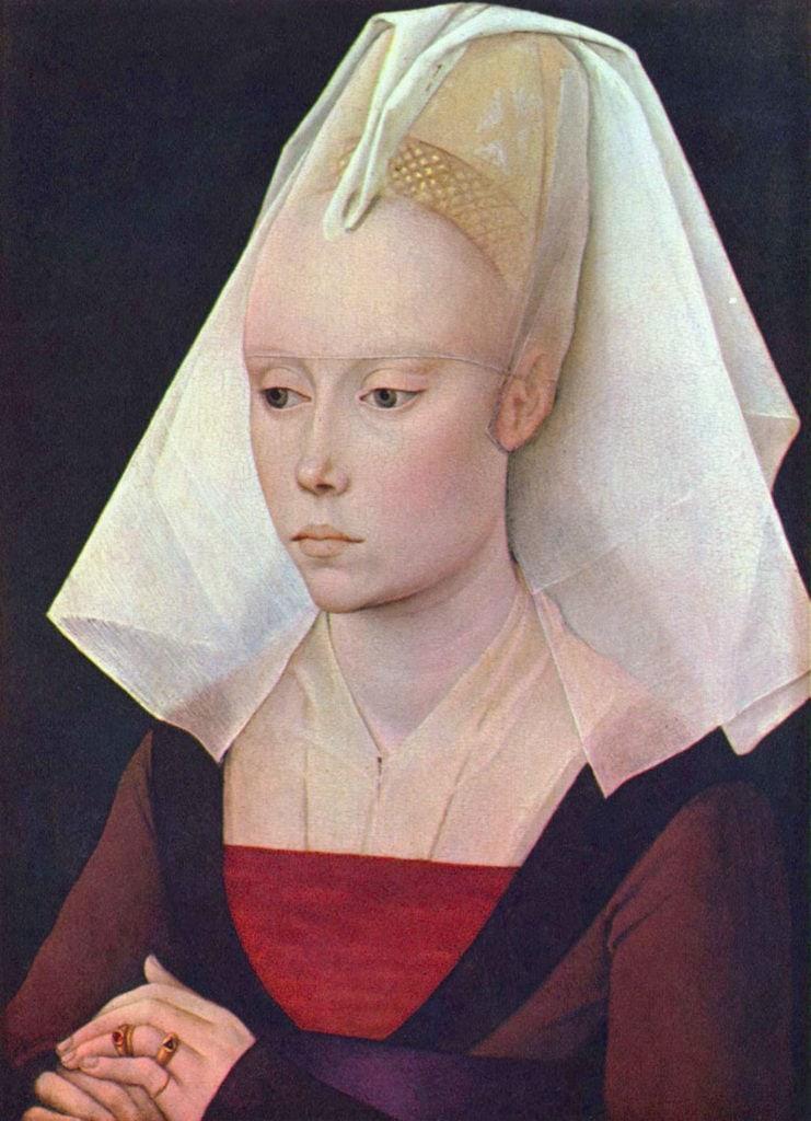 Rogier_van_der_Weyden_Porter un voile de mariée