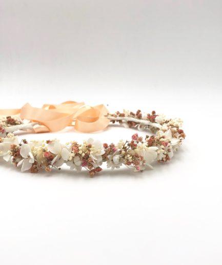 Couronne de fleurs Candi - Collection ROmantique - Les Fleurs Dupont