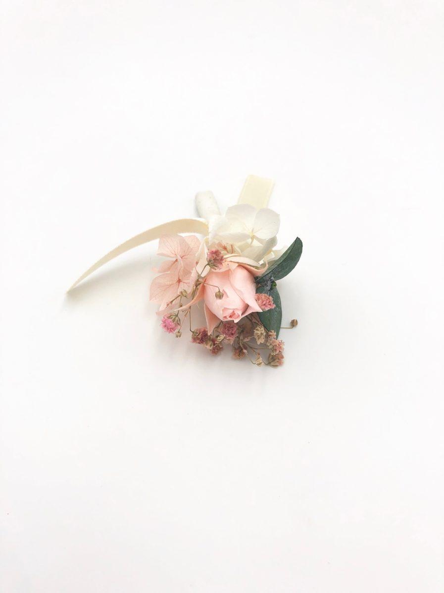 Boutonnière de marié Confetti - Les Fleurs Dupont