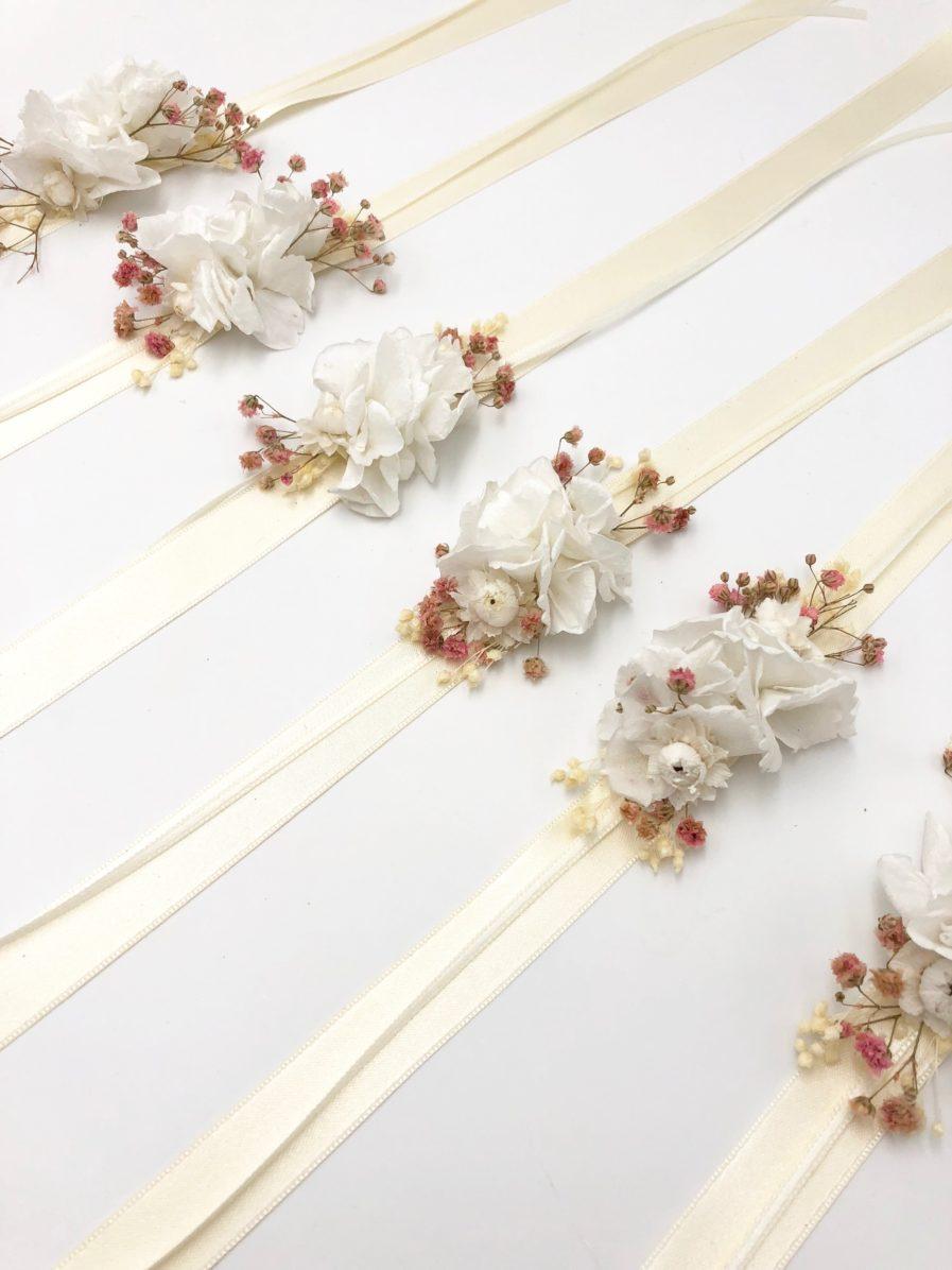 Bracelet de demoiselles d'honneur Candi - Les Fleurs Dupont