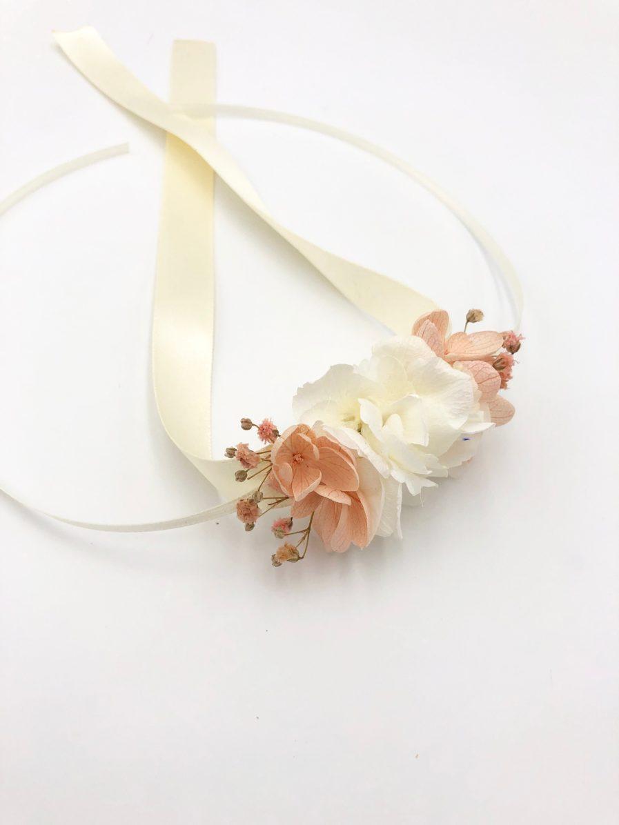 Bracelet en fleurs stabilisées Candi