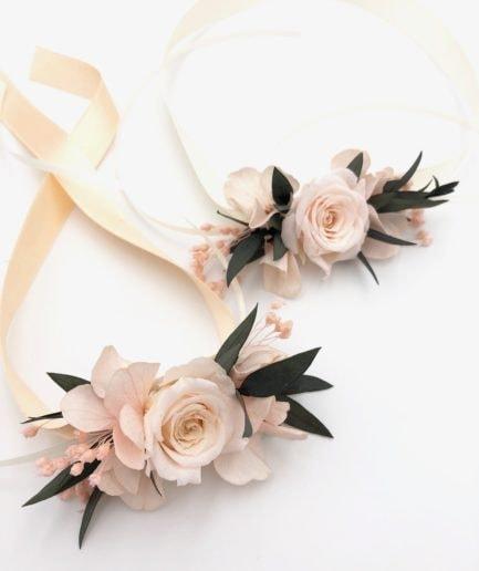 Bracelet en fleurs stabilisées Lima