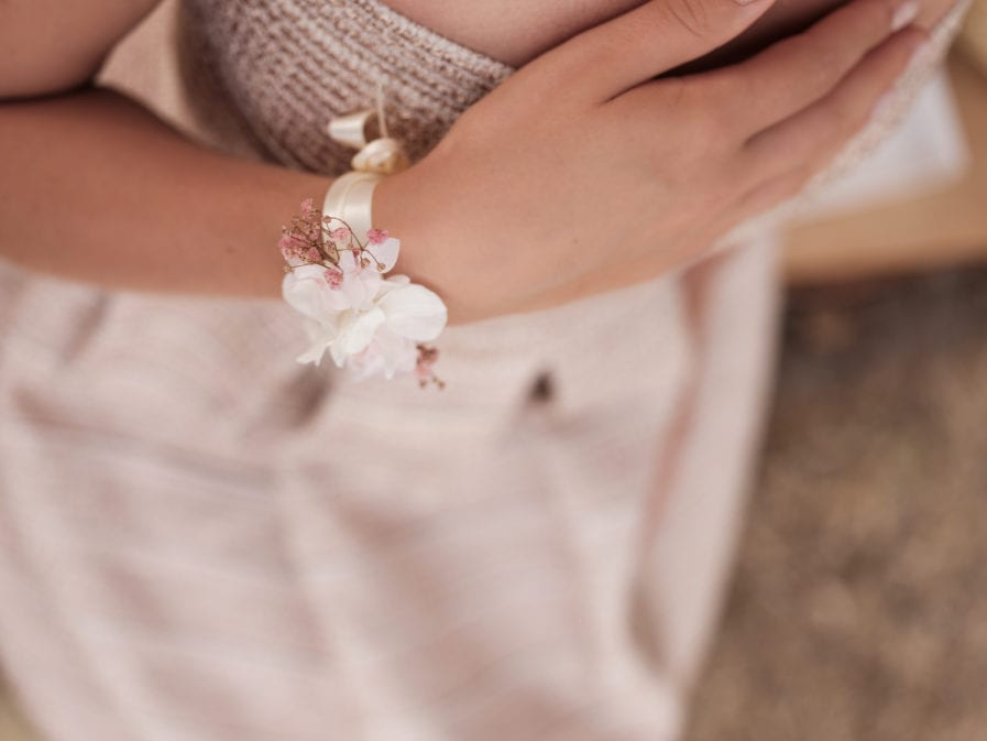 Bracelet fleurs stabilisées Candi - Photo Ilan Dehé - Natalya
