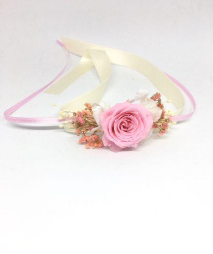 Bracelet de demoiselles d'honneur Lima en fleus stabilisées
