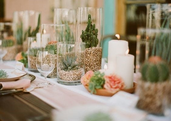 Les végétaux dans les mariages 2019