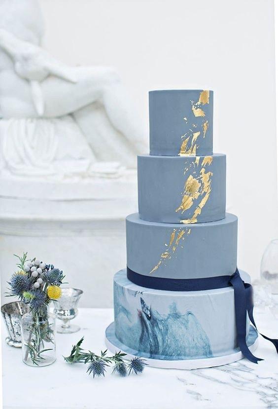 Le gâteau de mariage en 2019