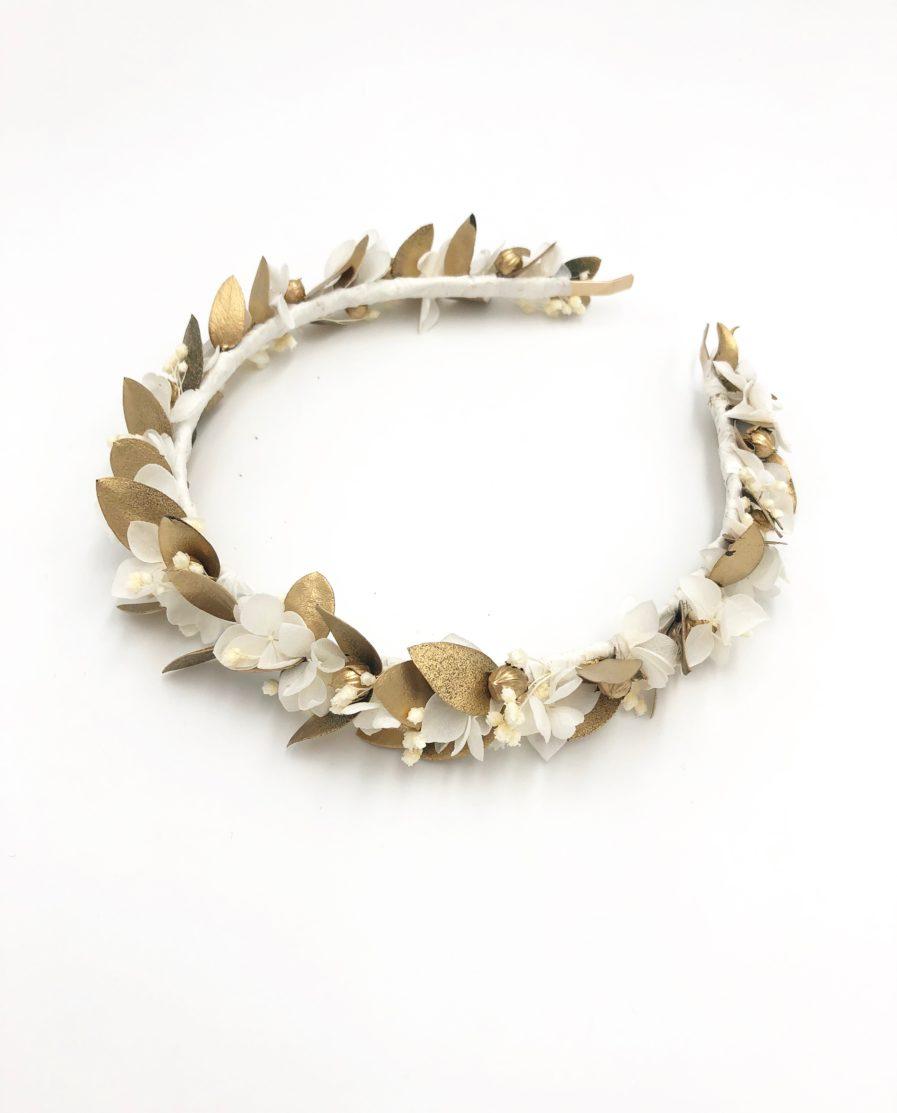 Headband de fleurs Ori