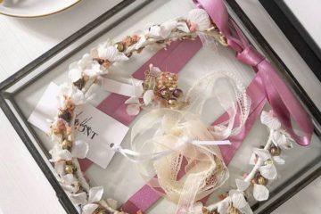 Conserver sa couronne de fleurs en souvenir