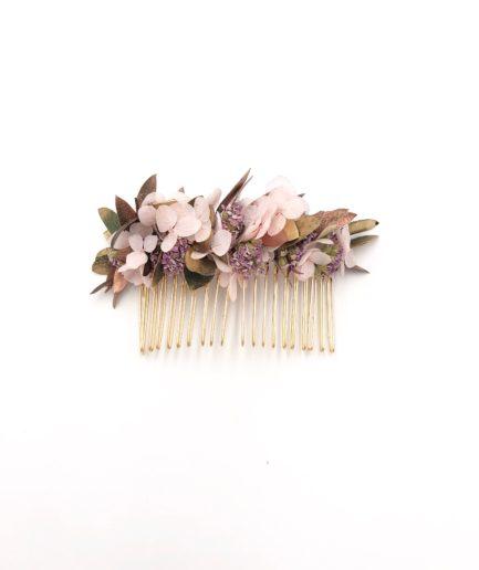 Peigne de fleurs Phyra - Collection Orichalque