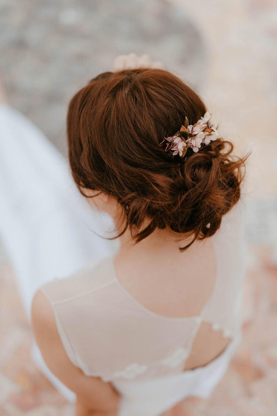 Peigne de fleurs Phyra - Les Fleurs Dupont - Anaïs Nannini -