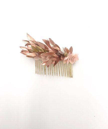Peigne de mariage Phyra version antique - Les Fleurs Dupont