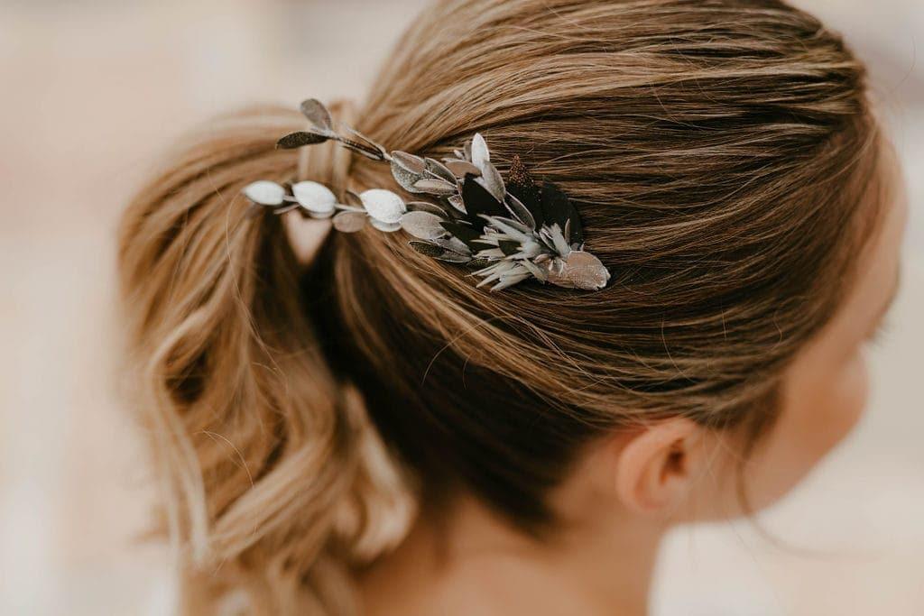 Peigne de mariage Turquin version antique - Les Fleurs Dupont - Anaïs Nannini Photo